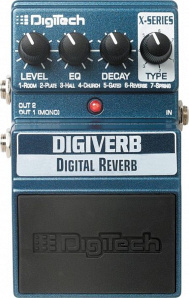 Педаль эффектов digitech x-series digital reverb