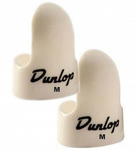 Медиатор-коготь Dunlop White Plastic Fingerpicks 9011R Medium